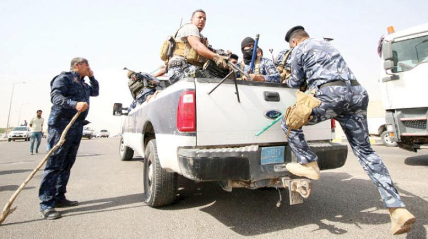 Irak polisi protestoculara Zubeyr Petrol sahasında müdahale etti