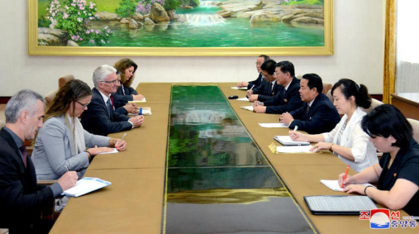 BM'den Kuzey Kore'ye ziyaret