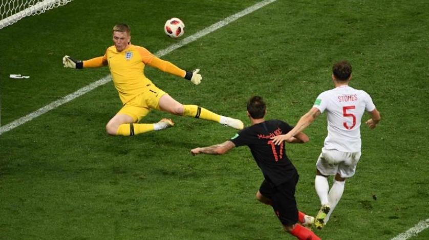 İngiltere'yi eleyen Hırvatistan finalde Fransa'nın rakibi oldu