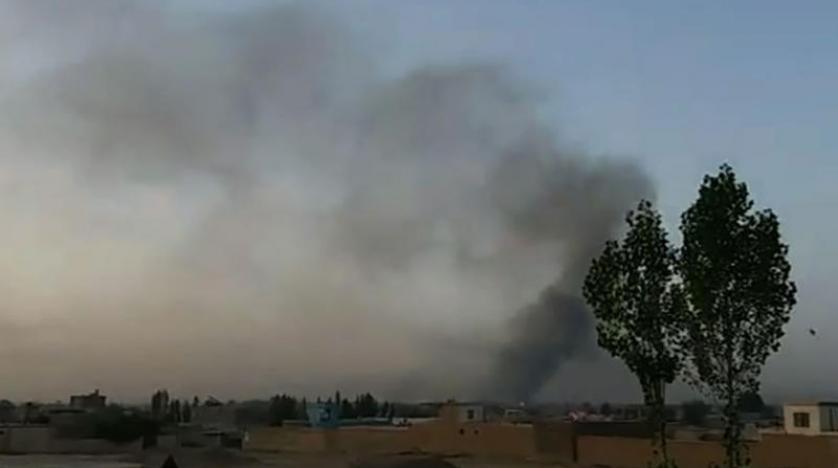 ABD uçakları, Taliban'ın ele geçirdiği Gazne kentini hedef aldı