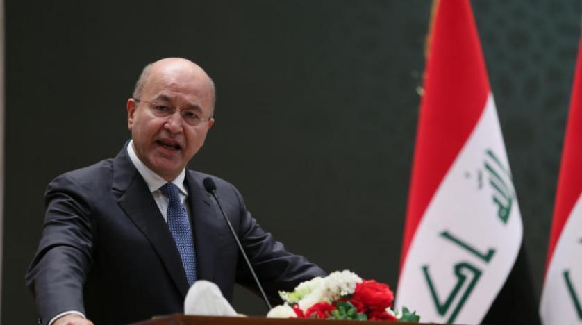 Irak Cumhurbaşkanı Riyad'da