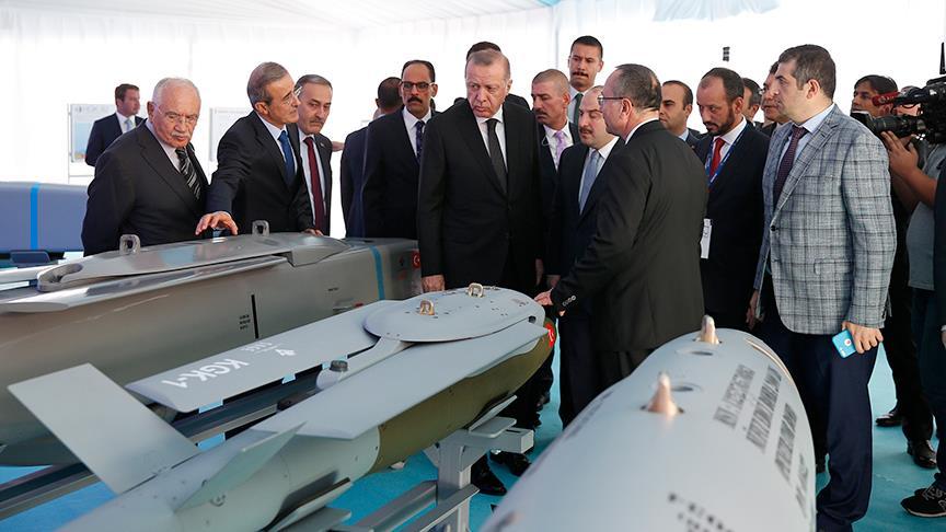 Erdoğan: Milli hava füze savunma sistemi için çalışmalar başladı