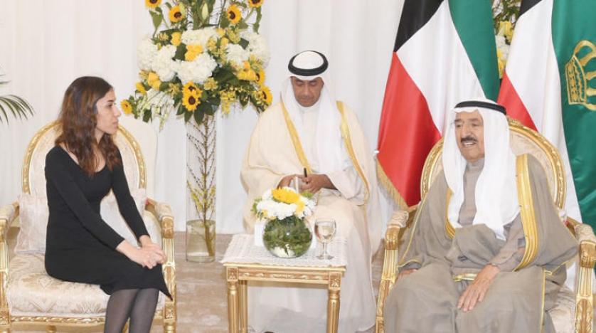 Kuveyt Emiri, Nobel Barış Ödülü alan Nadia Murad ile görüştü