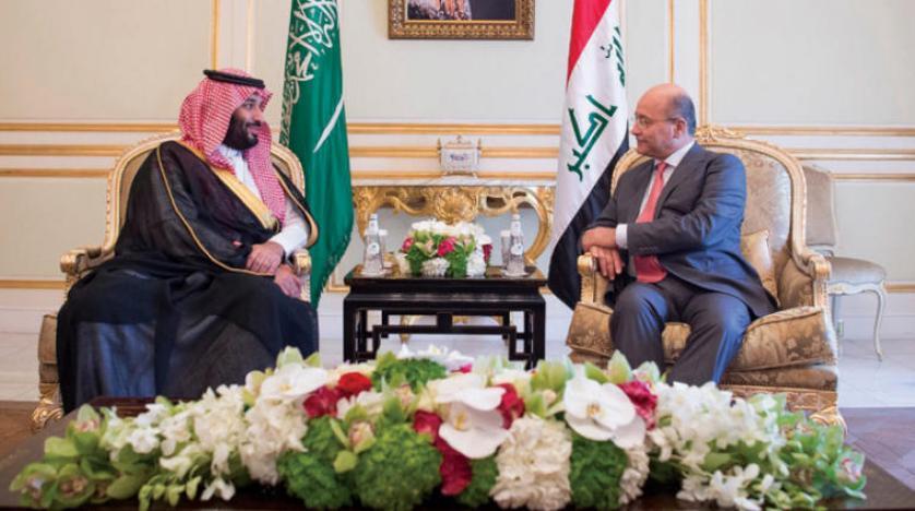 Veliaht Prens, Irak Cumhurbaşkanı ile görüştü