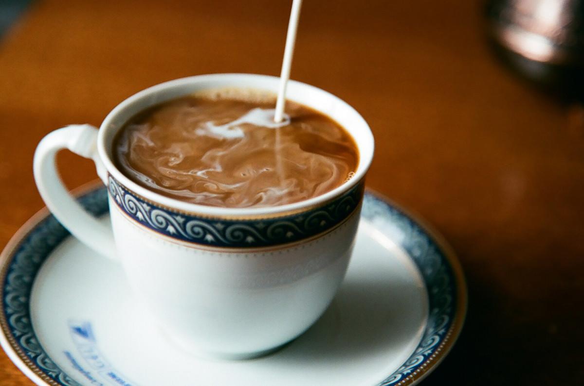 Крем қосылған кофе
