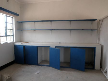Maternity ward cabinetry installed