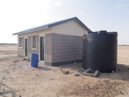 Telesgaye Primary School Kitchen Structure