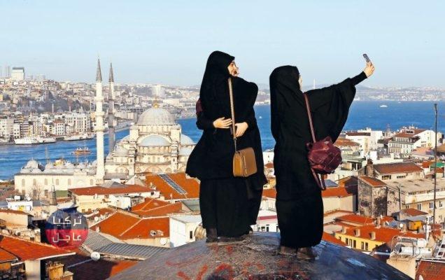 أرقام قياسية لأعداد السياح الأجانب والعرب في تركيا ..... تعرف على التفاصيل