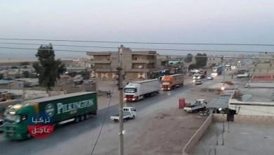 """100 شاحنة أمريكية محملة بالمصفحات تصل """"ي ب ك/ بي كا كا"""" الإرهابية في سوريا"""