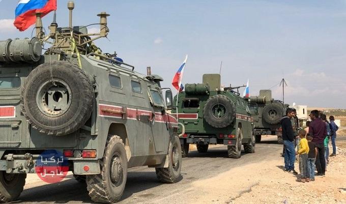 Photo of روسيا وتركيا تسيران دورية عسكرية جديدة في الدرباسية بريف الحسكة