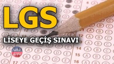 امتحان الليكيسي 2020 LGS في تركيا