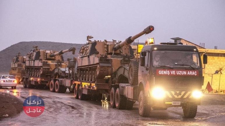 5 آلاف جندي تركي و1250 آلية عسكرية تركية تدخل سوريا خلال أسبوع (فيديوهات)