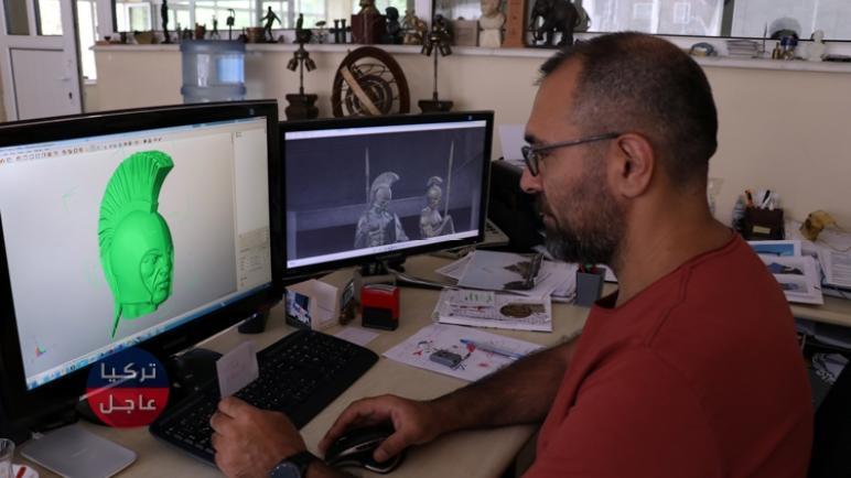 في تركيا يندمج الفن بالتكنولوجيا لصناعة الهياكل البرونزية