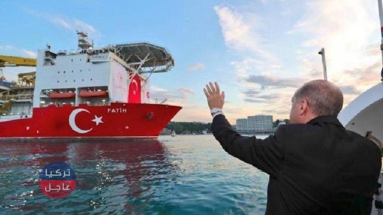 أردوغان يؤكد ان الغاز المكتشف في البحر الأسود قادر على سداد حاجات تركيا لسنوات