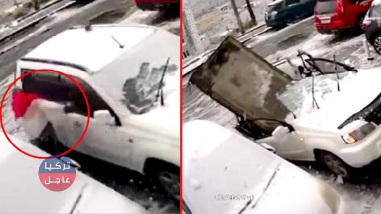 """شاهد بالفيديو مواطن روسي ينجو من الموت بأُعجوبة ويصفه الإعلام بـ""""الرجل المحظوظ"""""""