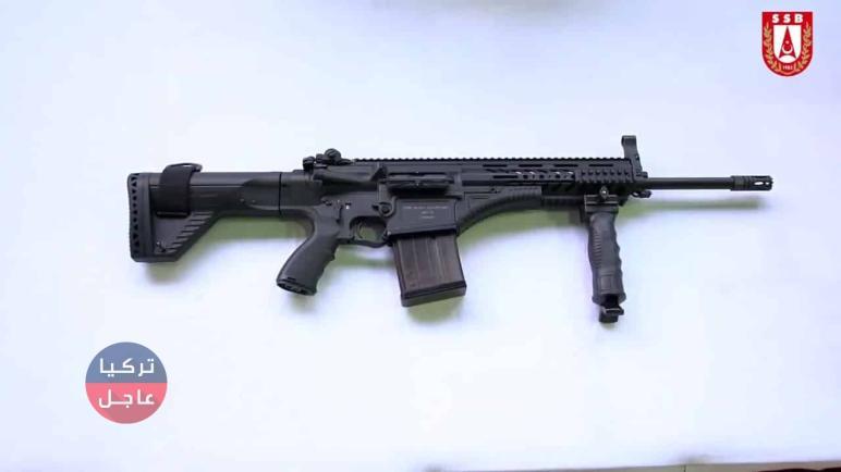 """بوزن خفيف جداً تركيا تطور بندقيتها محلية الصنع بندقية المشاة """"MPT-76"""""""