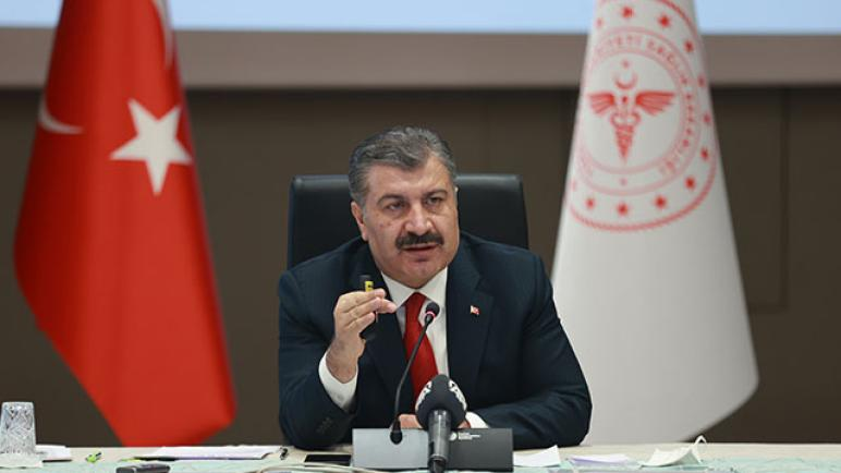 بيان مهم وعاجل من وزير الصحة التركي