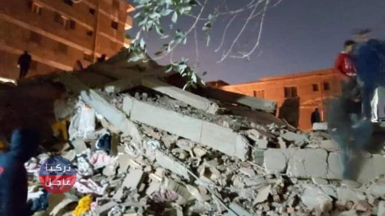 انهيار عقار جسر السويس خبر يهز المصريين و يحتل المركز الأول