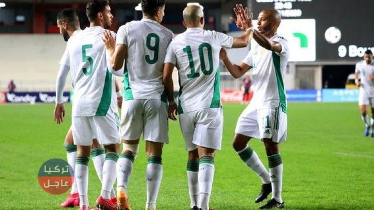 تصفيات أمم أفريقيا 2021 الجزائر تستعد لإنهاء التصفيات بأفضل أداء