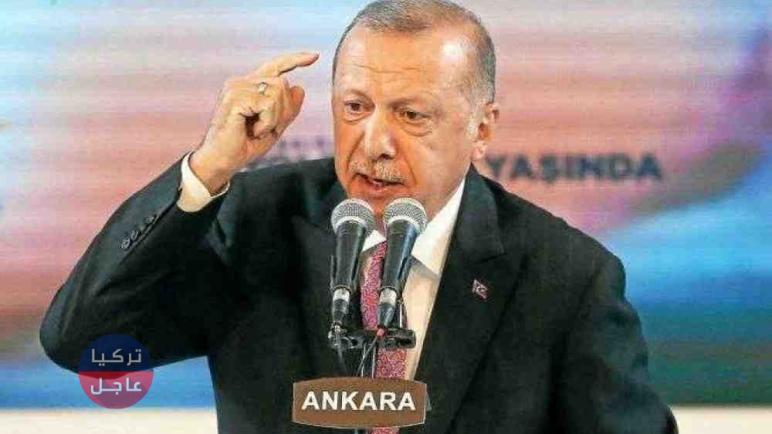 أردوغان يبعث برسالة إلى الاتحاد الأوروبي تخص السوريين