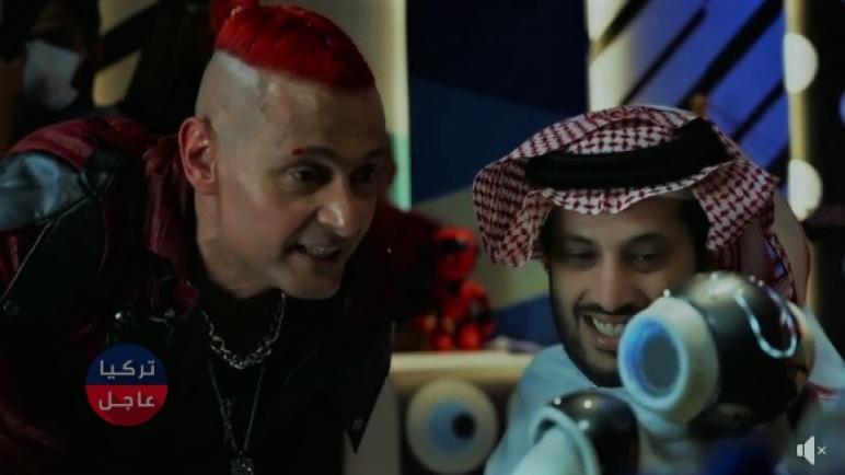 تركي آل الشيخ في برنامج رامز عقلو طار الفيديو الصاخب (شاهد)