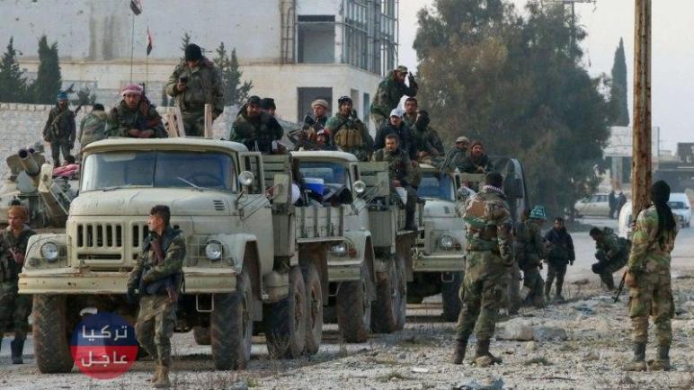 النظام السوري يسحب عدد من عناصره من جبهات ريف ادلب الجنوبي