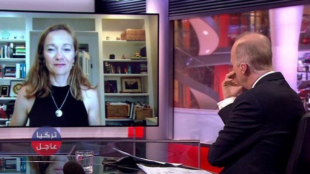 فضيحة لقناة BBC الأمريكية على الهواء مباشر (شاهد)