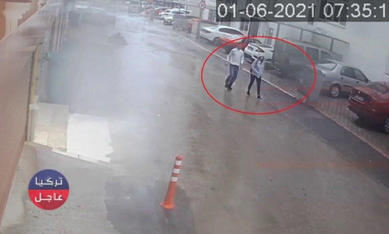 شاهد بالفيديو شخص يعترض الفتيات في بورصا ثم يقبلهم ويهرب بعيدا