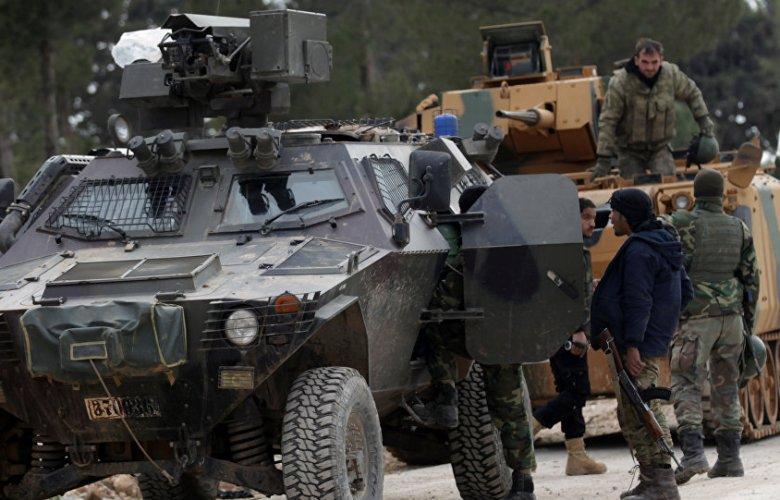 Syria, Turkish military, convoy, Idlib, attack, SDF