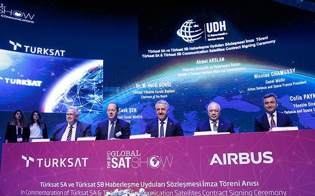 SpaceX, Turksat, Airbus, satellite, Turkey, Global SatShow, Istanbul