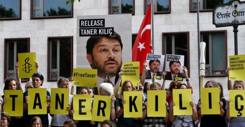 Taner Kilic, Amnesty International, human rights, activists