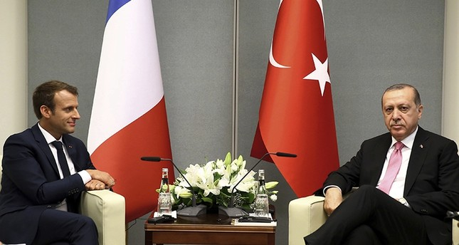 Erdogan, France, visit