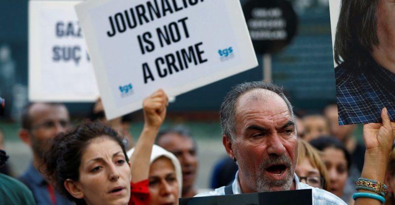 Turkey, jailed journalists, CPJ, press freedom