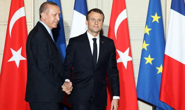 France, Turkey, EU, membership, Macron, Erdogan