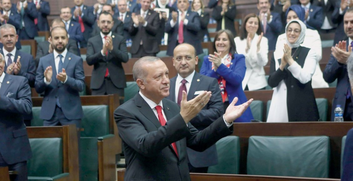 President Erdogan takes his oath in Parliament