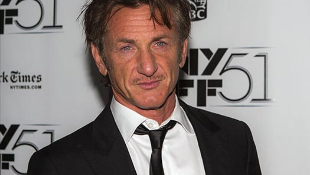 American actor Sean Penn poses on the red carpet at red carpet at the 51st New York Film Festival in 2013.
