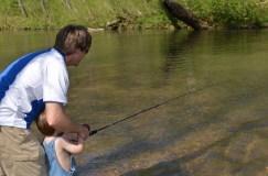 Fishing Turkey Creek
