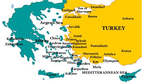 Cyprus Turkey Macedonia
