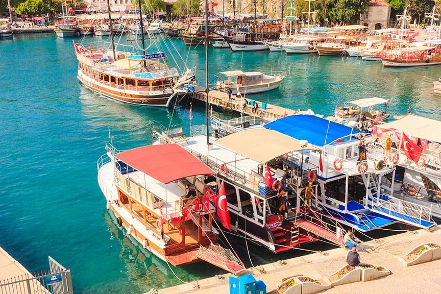 Mediterranean landscape in Antalya