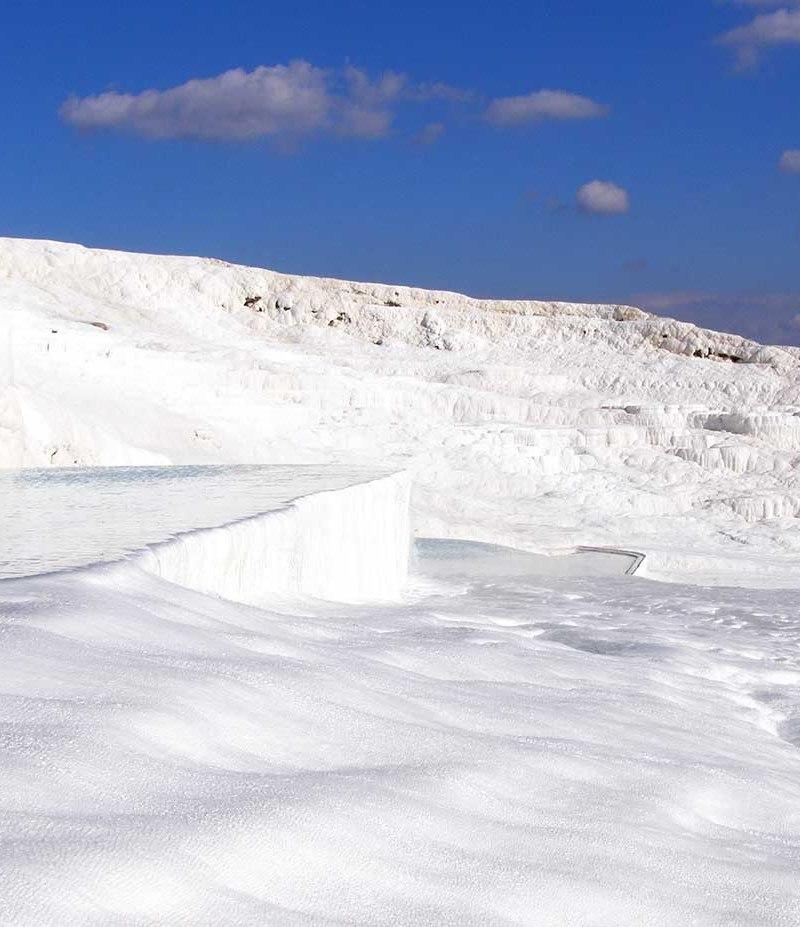 cotton castle, Pamukkale