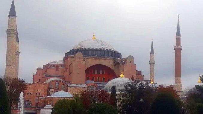 Hagia Sofia. Kuva: Mustafa Orhan