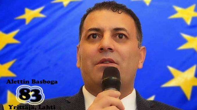 Europarlamenttiehdokas Alettin Başboğa