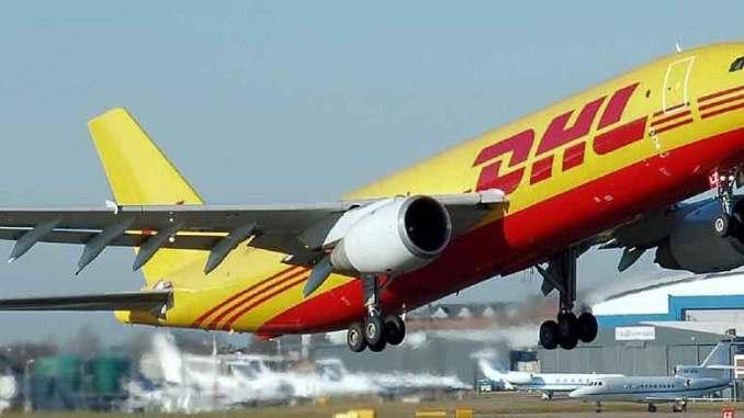 DHL Express globaali logistiikka yhtiö