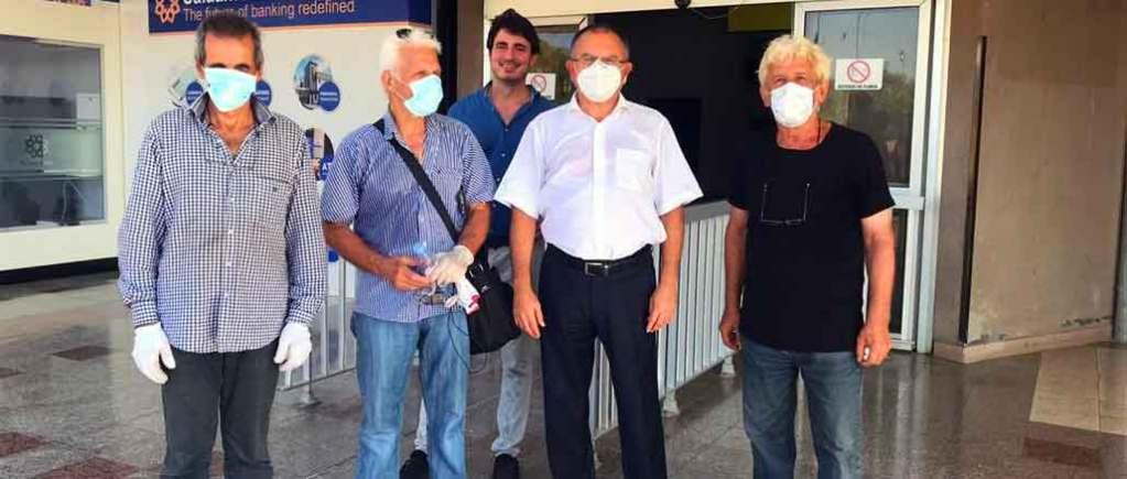 Turkin suurlähettiläs & kreikkalaiset merimiehet