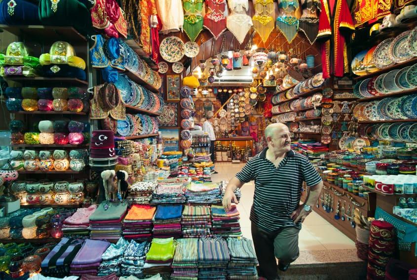 أسواق جملة الملابس في أسطنبول