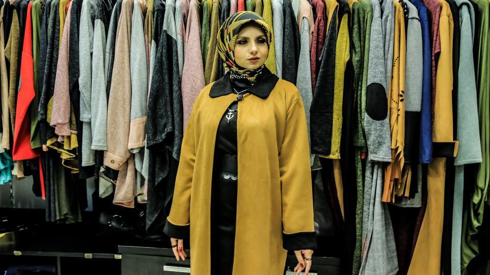 سوق ملابس الجملة في اسطنبول