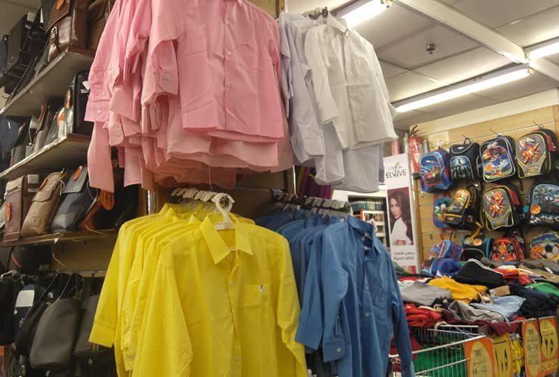 اماكن بيع ستوكات الملابس