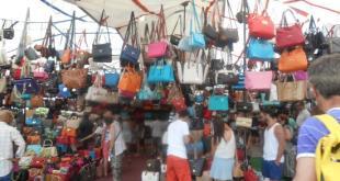 سوق الحقائب في اسطنبول