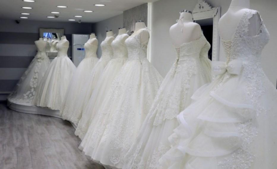 اماكن بيع فساتين الزفاف في اسطنبول