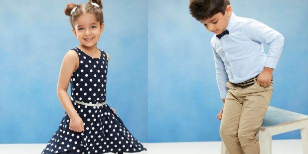 خصومات على ملابس الأطفال بالرياض